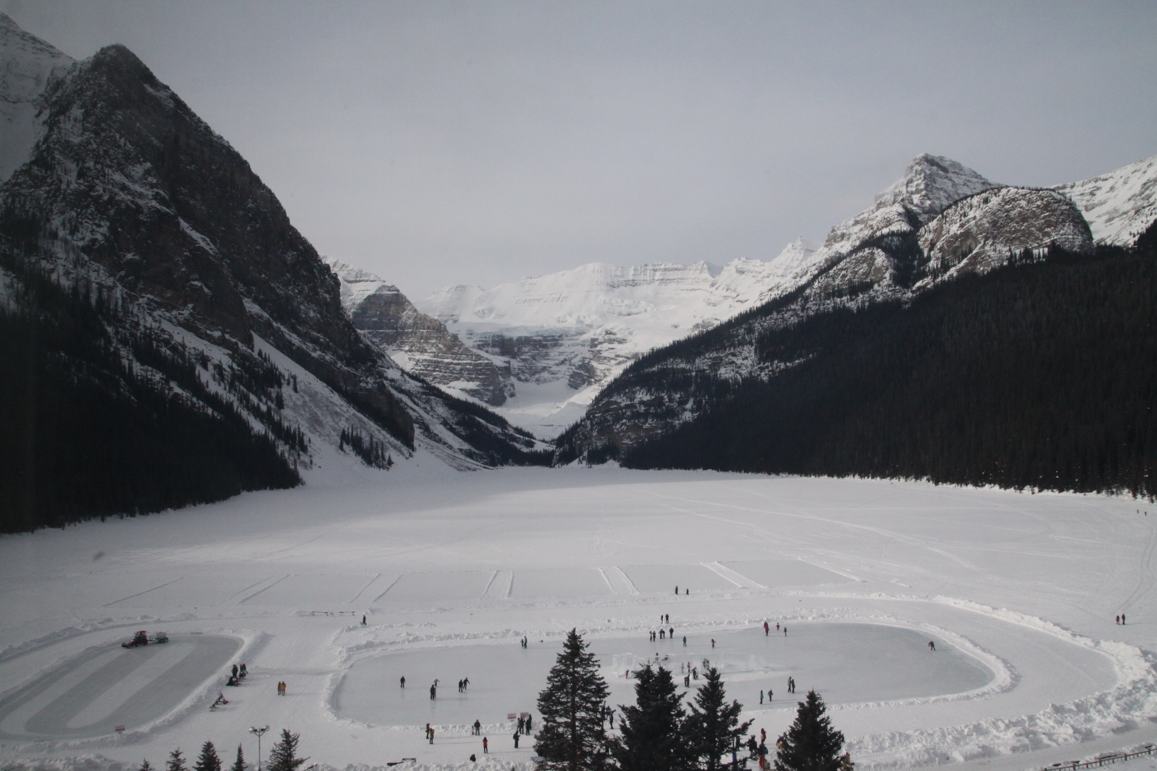 Little Squirm Visits Lake Louise